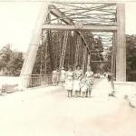 Мост в с.Джубга через одноименную речку на шоссе Новороссийск-Сухум, построенный в начале 20 века.
