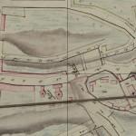 Грезницкий переулок на карте Смоленска 1847 года.   www.retromap.ru